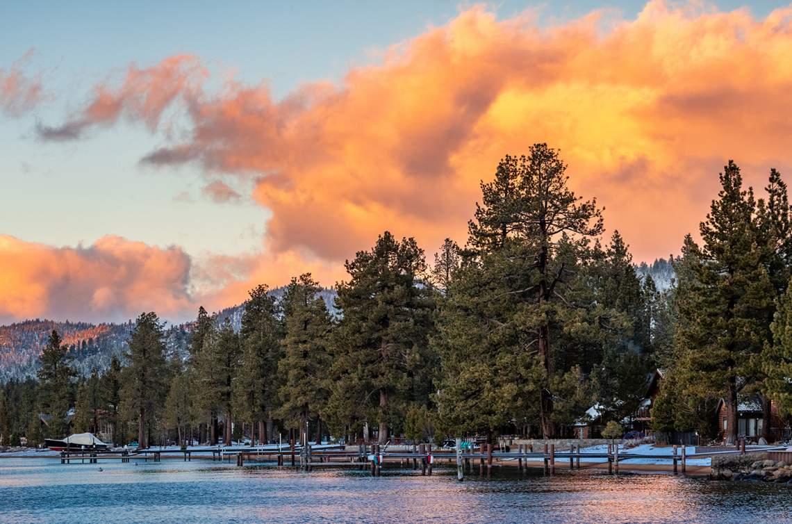 Lake-Frontage-Sunset