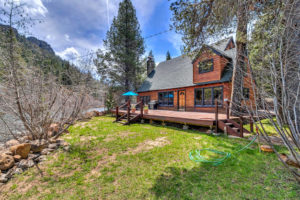 NEW LISTING – RIVERFRONT CABIN HIDEAWAY IN TRUCKEE