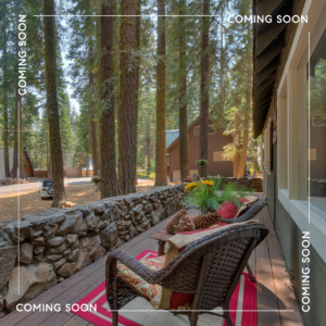 COMING SOON – QUINTESSENTIAL TAHOE CABIN ON THE WEST SHORE