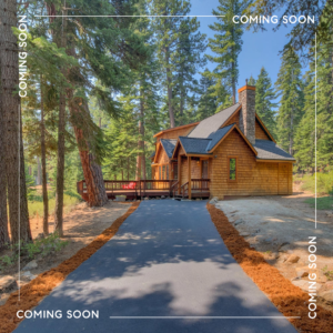 COMING SOON – CHARMING NORTH LAKE TAHOE MOUNTAIN HOME