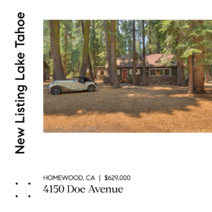 NEW LISTING – MAKE DOE'S DEN YOUR NEW MOUNTAIN HOME