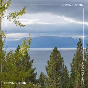 COMING SOON  |  Dollar Point Residential Lot with Spectacular Lake Views
